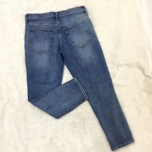 GAP Jeans - GAP | Distressed High Rise Girlfriend Denim Jeans